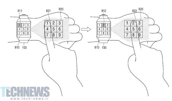 Photo of پتنت جدید سامسونگ مچ دست شما را به نمایشگر و ساعتهوشمندتان را به پروژکتور تبدیل میکند