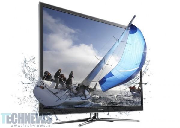 تلویزیون های سه بعدی سامسونگ