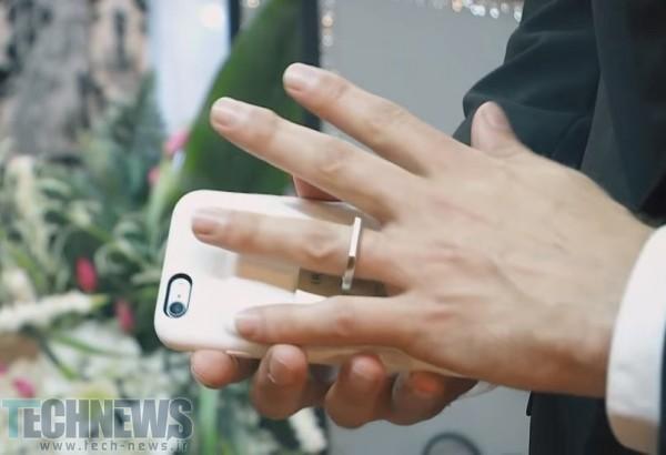 یک مرد با آیفون خود در لاسوگاس ازدواج کرد!