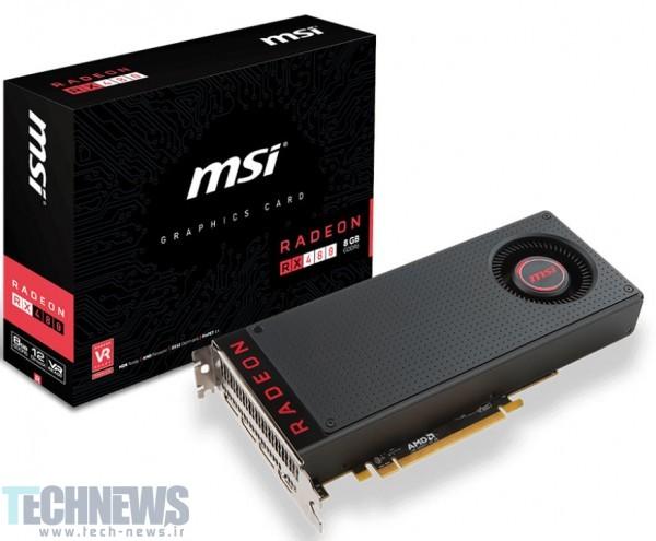MSI Announces its Radeon RX 480 Graphics Card