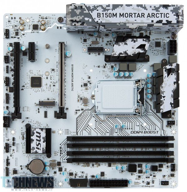 MSI Readies the B150M Mortar Arctic and B150M Bazooka Plus Motherboards2