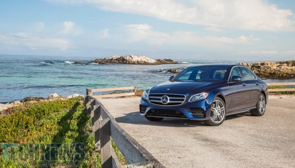 Mercedes Benz's E300 is a luxury car that happens to be high-tech