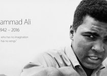 Apple Honors the Life of Muhammad Ali on its Homepage