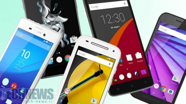 Photo of راهنمای خرید: بهترین گوشیهای هوشمند بازار با قیمت زیر 900 هزار تومان (خرداد ۹۵)