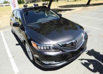 Honda demos its self-driving car at California test track