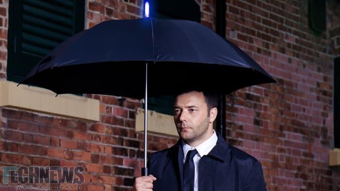Photo of این چتر هوشمند میتواند زمان بارش باران را تشخیص دهد