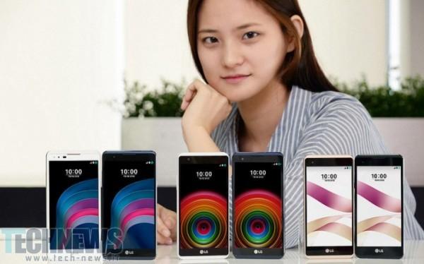 الجی گوشیهای هوشمند میانرده X5 و X5 Skin را معرفی کرد