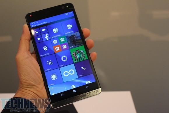اچپی گوشی Elite x3 را به دنیای ویندوزفونها معرفی میکند
