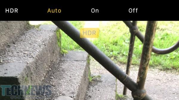 حالت HDR خودکار را به کار ببرید