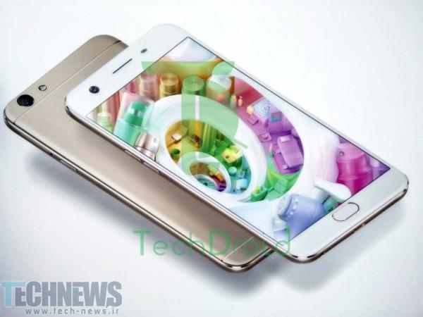 رندرهای جدیدی از گوشیهوشمند Oppo F1s منتشر شد