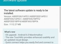 عرضهی بهروزرسانی اندروید 6.0 برای گلکسی A8 از امروز آغاز خواهد شد