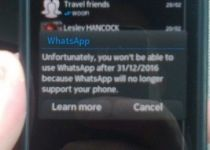 واتساپ به پشتیبانی از سیستمعامل سیمبیان خاتمه میدهد