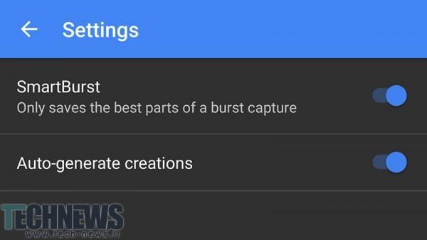 با استفاده از حالت Burst تصاویر خود را بگیرید