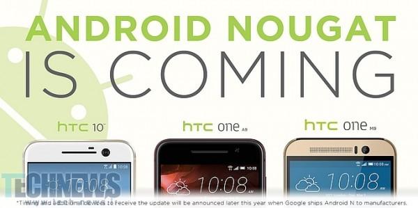 Photo of اچتیسی عرضه اندروید Nougat را برای گوشیهای HTC 10، One M9 و One A9 تایید کرد