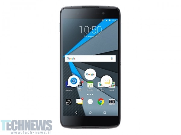 Photo of گوشی هوشمند DTEK50 بلکبری با سیستمعامل اندروید رسماً معرفی شد
