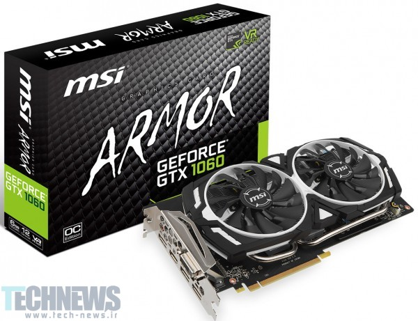 MSI Announces its GeForce GTX 1060 Series2