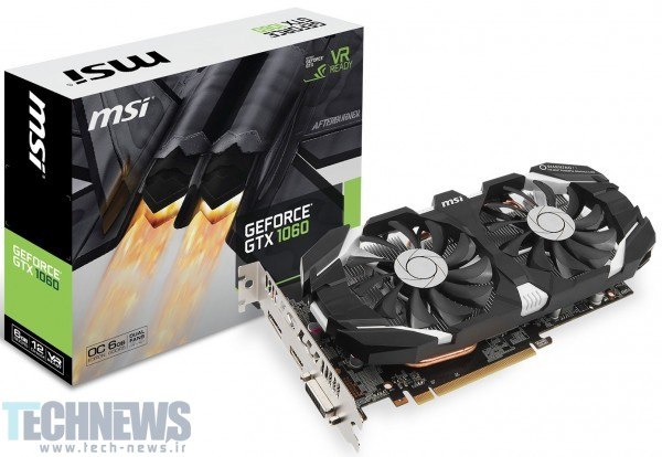 MSI Announces its GeForce GTX 1060 Series3