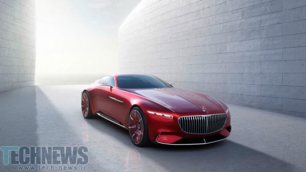اولین تصاویر و جزئیات فنی از خودروی جدید و مفهومی ویژن مرسدس-میباخ 6 منتشر شد