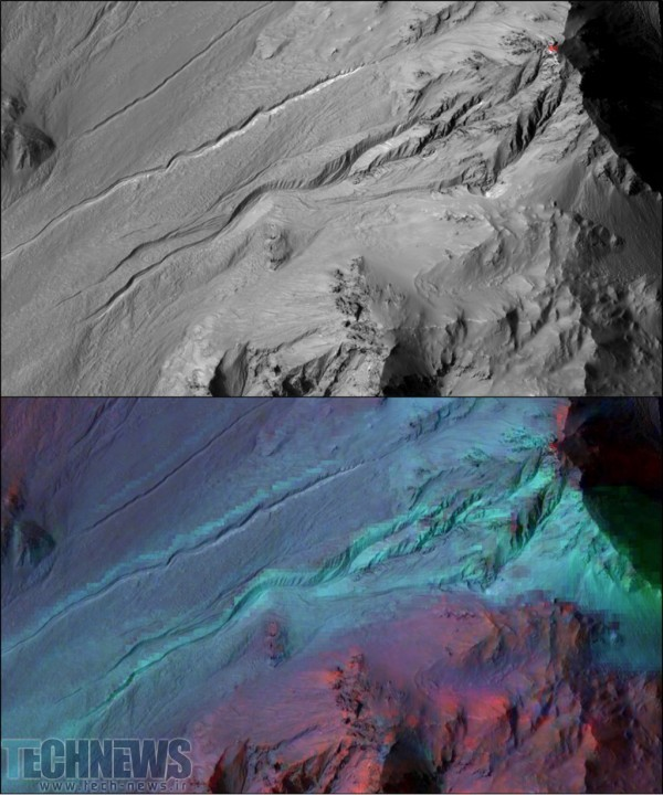بالاخره محققین راز مربوط به خندقهای سیاره مریخ را کشف کردند