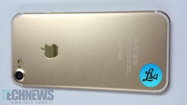 تصاویر جدیدی با کیفیت بالا از نسخه طلایی رنگ آیفون 7 منتشر شد (3)