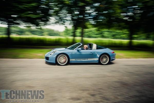 رونمایی پورشه از نسخه اختصاصی خودروی 911 Targa 4s2
