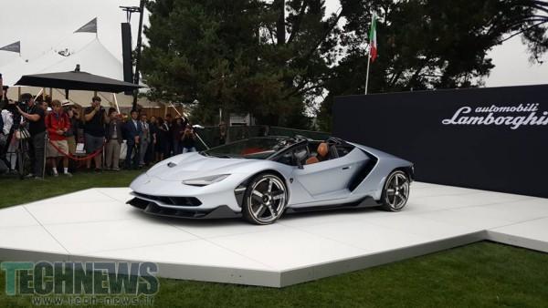 لامبورگینی نسخهی رودستر از خودروی سنتناریو را با قیمت 2.2 میلیون دلار معرفی کرد5