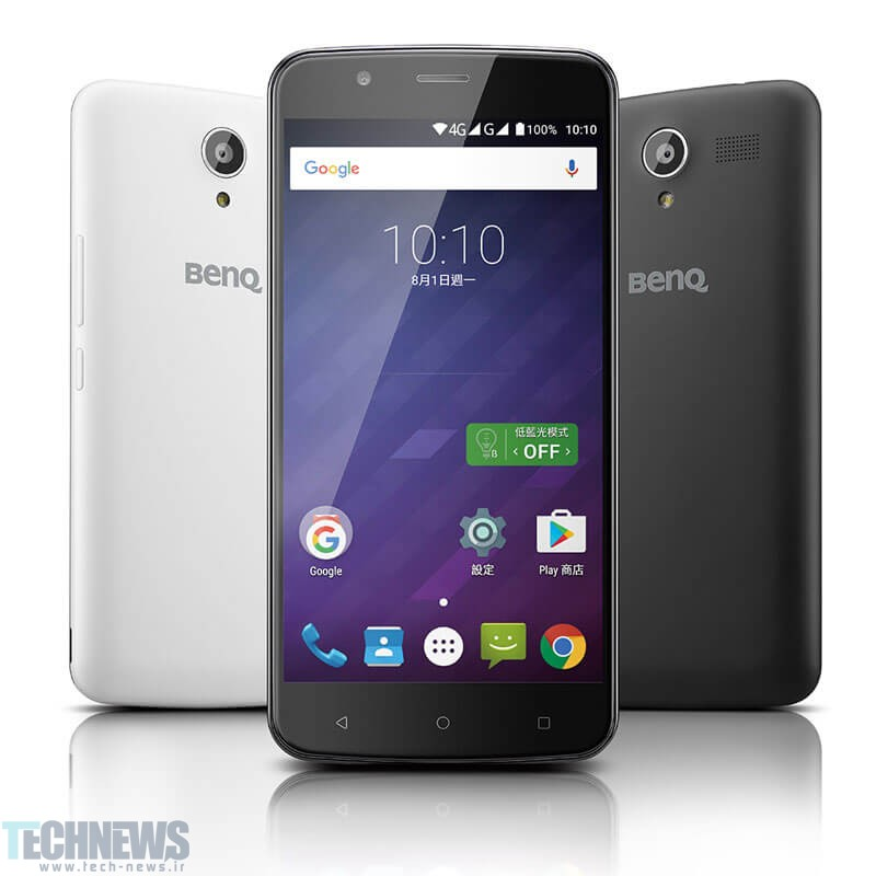 گوشی هوشمند BenQ T55 با نمایشگر 5.5 اینچی معرفی شد