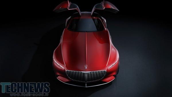 اولین تصاویر و جزئیات فنی از خودروی جدید و مفهومی ویژن مرسدس-میباخ 6 منتشر شد4