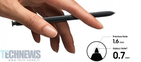 قلم S Pen گوشی گلکسی نوت 7 سامسونگ-