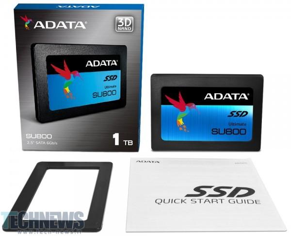 Photo of رونمایی ADATA از هارد جامد میانرده و قدرتمند Ultimate SU800