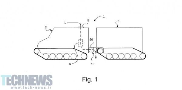 اولین پتنت مربوط به وسیله نقلیه اپل بیشتر به تانک شباهت دارد تا به یک خودرو