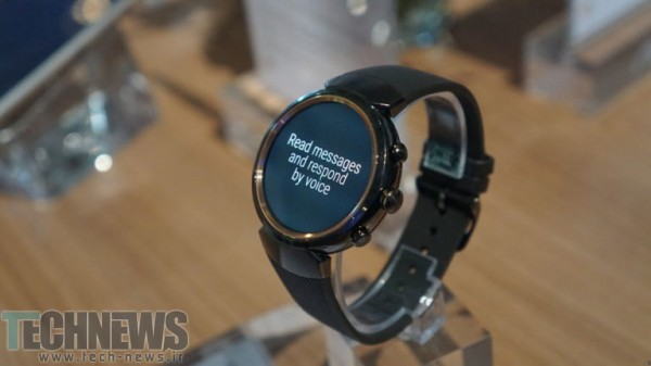 Photo of ساعت هوشمند ZenWatch 3 ایسوس در IFA 2016 رسماً معرفی شد