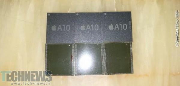 اولین تصاویر منتسب به چیپست A10 اپل منتشر شد
