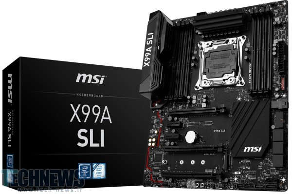Photo of MSI مادربورد قدرتمند X99A-SLI را معرفی کرد