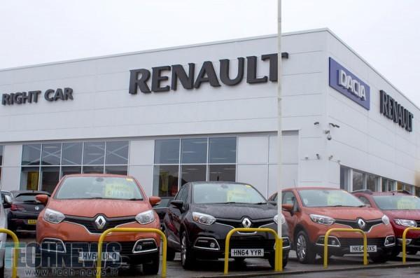 رنو به عنوان دومین خودروساز پرفروش اروپا، بالاتر از فورد قرار گرفت