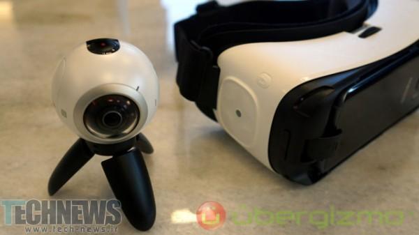 سامسونگ احتمالا Gear 360 Pro را در سال 2017 معرفی نماید