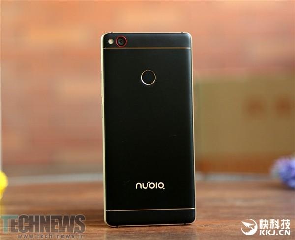 تصاویری از گوشی هوشمند Nubia Z11  با ترکیب رنگ مشکی و طلایی منتشر شد