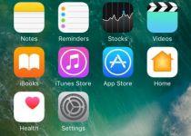 صفحه هوم iOS 10