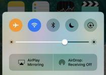 مرکز کنترل iOS 10
