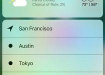 استفاده از قابلیت لمس سه بعدی در iOS 10