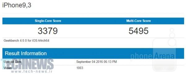 Photo of نتایج بنچمارک آیفون 7 پلاس در Geekbench منتشر شد