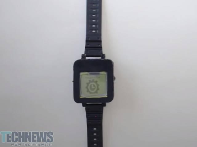 این هکر گوشی نوکیا 1100 را به یک ساعت هوشمند تبدیل کرده است