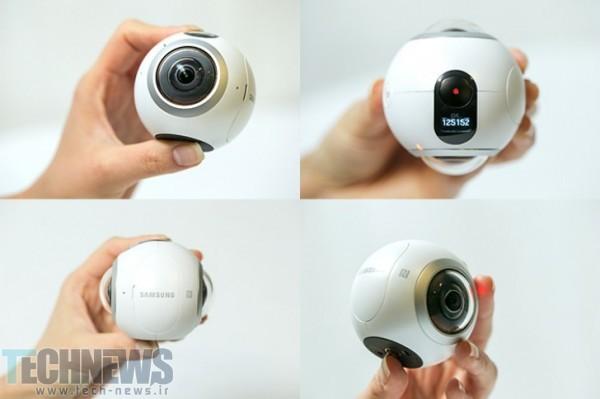 Photo of دوربین Gear 360 Pro سامسونگ در Zauba رویت شد