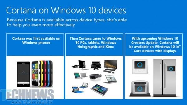 Photo of مایکروسافت قصد دارد از کورتانا در سایر لوازم خانگی نیز استفاده کند