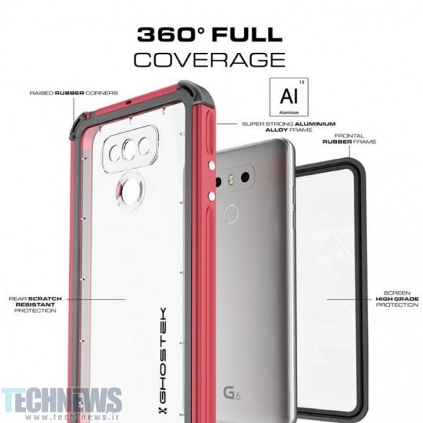 New LG G6 leaked renders
