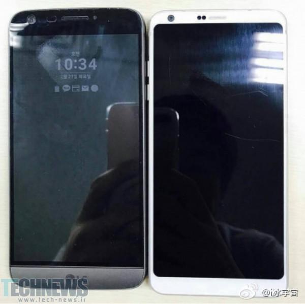 Photo of تصویر LG G6 در کنار G5 به بیرون درز پیدا کرد