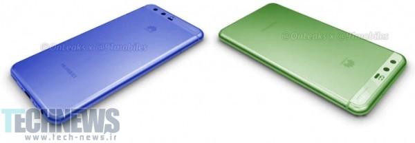 Photo of گوشی P10 هوآوی در رنگهای طلایی، آبی و سبز عرضه میشود