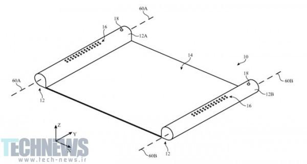 Photo of پتنت جدید اپل نحوه استفاده از نمایشگرهای اولد انعطافپذیر را در دستگاههای این شرکت نشان میدهد