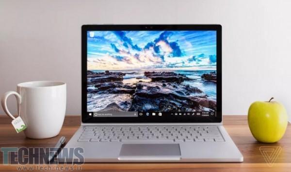 Photo of طراحی سرفیس بوک 2 مایکروسافت سنتی و به شکل یک لپتاپ است؛ حذف طراحی 2 در 1