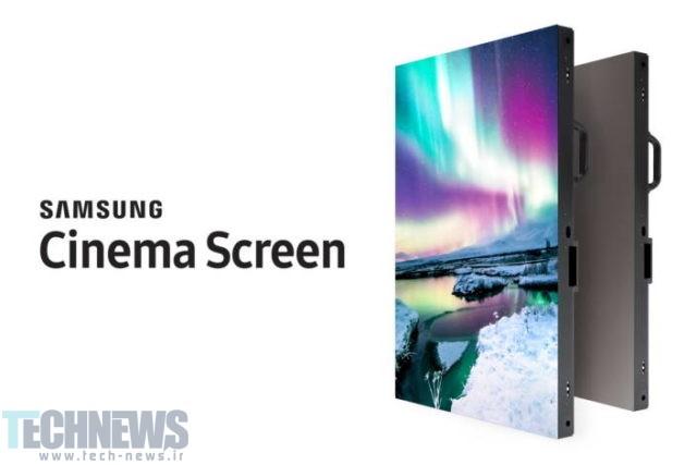 Photo of سامسونگ نمایشگر سینمایی 34 فوتی 4K HDR LED را عرضه میکند